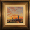Andrew Grant Kurtis, Original oil painting on panel, Reflections of Westminster