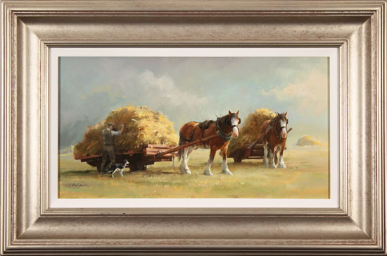Jacqueline Stanhope, Original oil painting on canvas, The Harvest