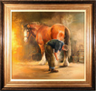 Jacqueline Stanhope, Original oil painting on canvas, The Farrier