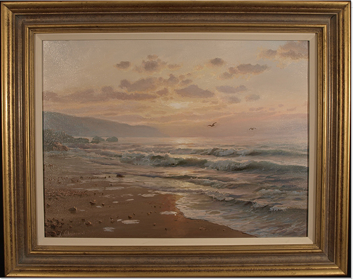 Juriy Ohremovich, Original oil painting on canvas, Seascape Click to enlarge