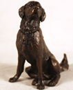 Michael Simpson, Bronze, Retriever Sitting