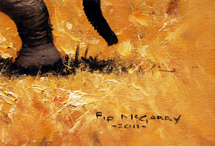 Pip McGarry, Original painting on Canvas
