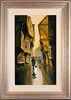 Richard Telford, Original oil painting on panel, The Shambles, York Medium image. Click to enlarge