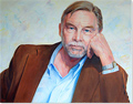 Stanley Kerr, Original oil painting on canvas, Wim (commission)