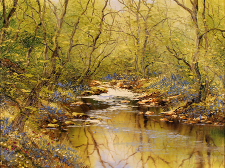 Terry Evans, Original oil painting on canvas, Swaledale, North Yorkshire No frame image. Click to enlarge