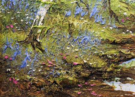 Terry Evans, Original oil painting on canvas, Swaledale, North Yorkshire Signature image. Click to enlarge