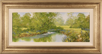 Terry Evans, Original oil painting on canvas, Summer in Wharfedale