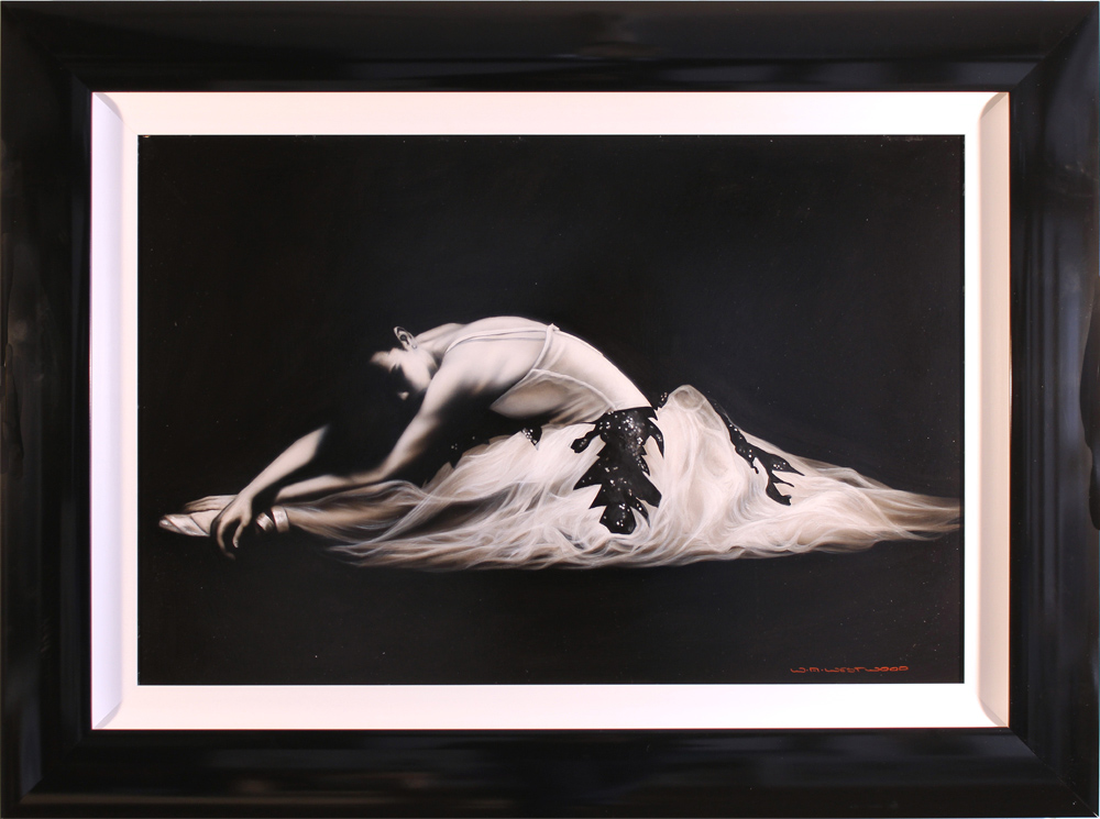 Wayne Westwood, Original oil painting on panel, Ballerina Click to enlarge