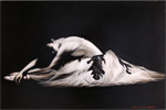 Wayne Westwood, Original oil painting on panel, Ballerina Medium image. Click to enlarge