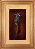 Wayne Westwood, Original oil painting on panel, Kingfisher Medium image. Click to enlarge