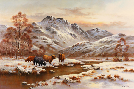 BBC - Your Paintings - Highland Cattle