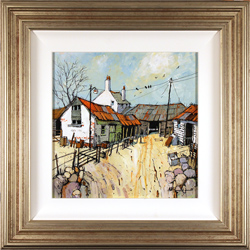 Alan Smith, Original acrylic painting on board, No Place Like Home
