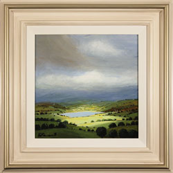 Alan Smith, Original oil painting on panel, Deep in the Valley, The Lake District