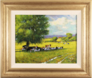 Alan Smith, Original oil painting on panel, Cattle Resting Medium image. Click to enlarge