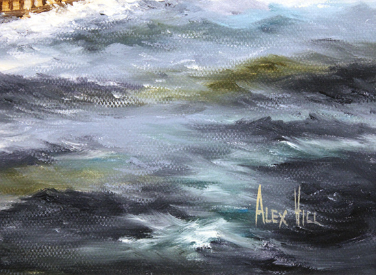 Alex Hill, Original oil painting on canvas, After the Storm Signature image. Click to enlarge
