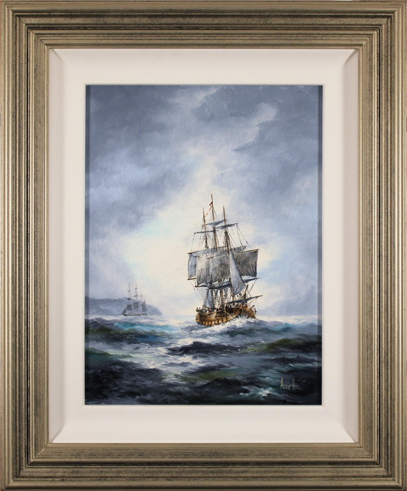 Alex Hill, Original oil painting on canvas, After the Storm Click to enlarge