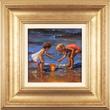 Amanda Jackson, Original oil painting on panel, Pebbles and Shells Medium image. Click to enlarge