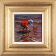 Amanda Jackson, Original oil painting on panel, Paddling for Pebbles Medium image. Click to enlarge