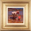 Amanda Jackson, Original oil painting on panel, Splish Splash Medium image. Click to enlarge
