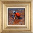 Amanda Jackson, Original oil painting on panel, A Curious Catch Medium image. Click to enlarge