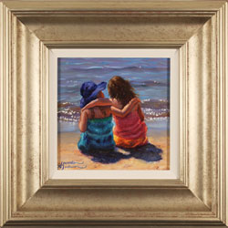 Amanda Jackson, Original oil painting on panel, Beach Dreams