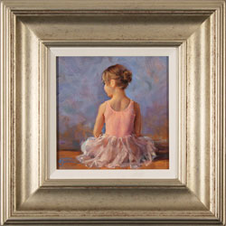Amanda Jackson, Original oil painting on panel, Sitting Pretty Medium image. Click to enlarge