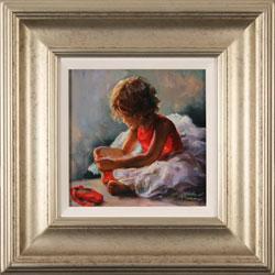 Amanda Jackson, Original oil painting on panel, Ruby Slippers Medium image. Click to enlarge