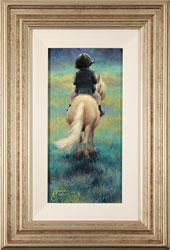 Amanda Jackson, Original oil painting on panel, My Little Pony Medium image. Click to enlarge