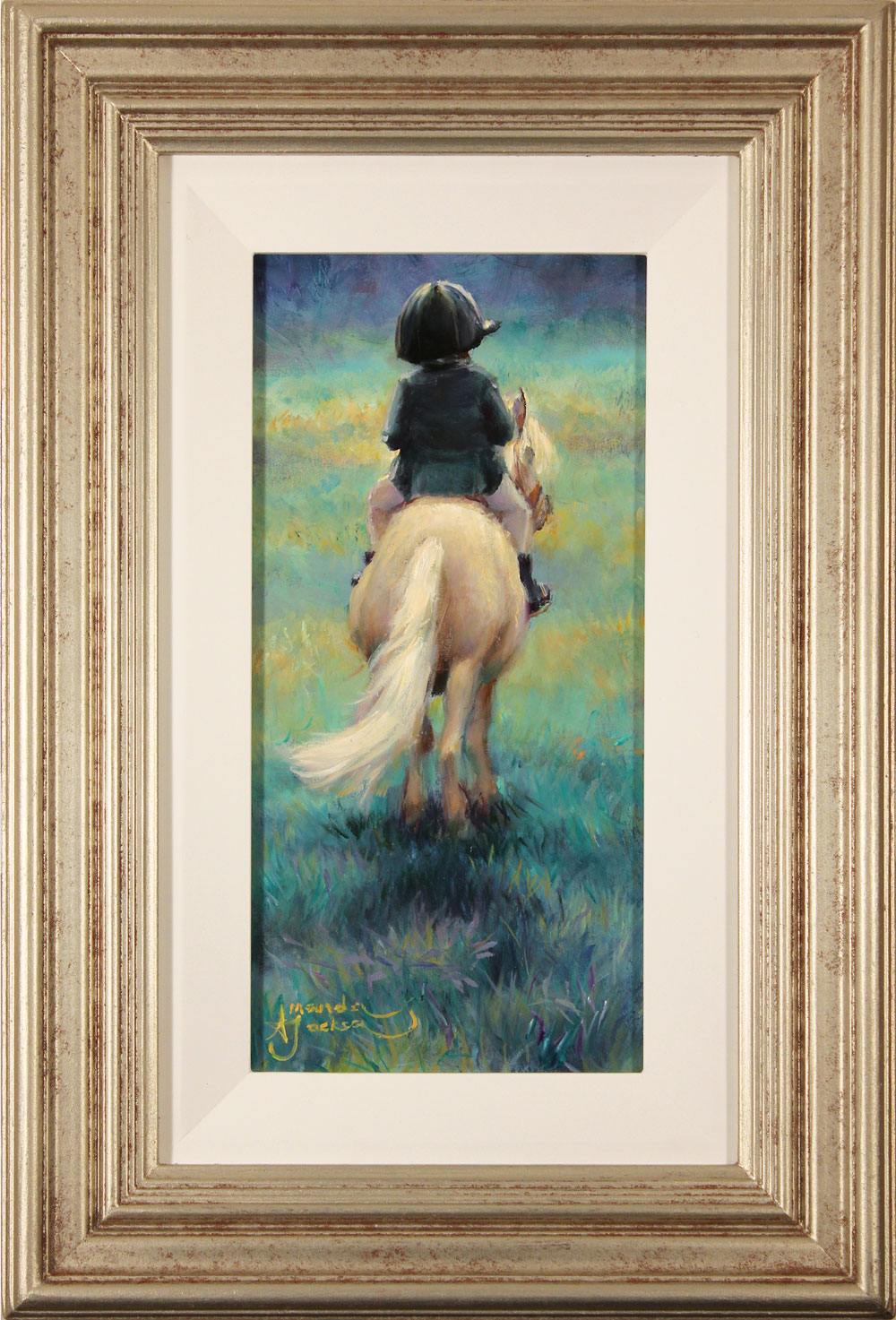 Amanda Jackson, Original oil painting on panel, My Little Pony Click to enlarge