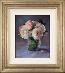Amanda Jackson, Original oil painting on panel, Garden Bouquet  Medium image. Click to enlarge
