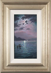 Andrew Grant Kurtis, Original oil painting on canvas, Moonlight Sparkle  Medium image. Click to enlarge