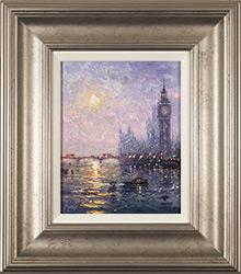 Andrew Grant Kurtis, Original oil painting on panel, Westminster Haze Medium image. Click to enlarge