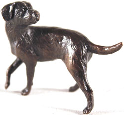 Michael Simpson, Bronze, Border Terrier Medium image. Click to enlarge