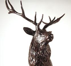 Michael Simpson, Bronze, Moorland Medium image. Click to enlarge