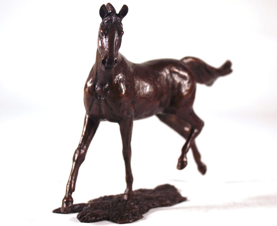 Michael Simpson, Bronze, Grace No frame image. Click to enlarge