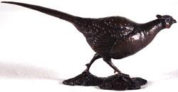 Michael Simpson, Bronze, Pheasant Medium image. Click to enlarge