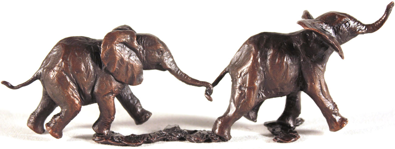 Michael Simpson, Bronze, Follow my Leader Click to enlarge