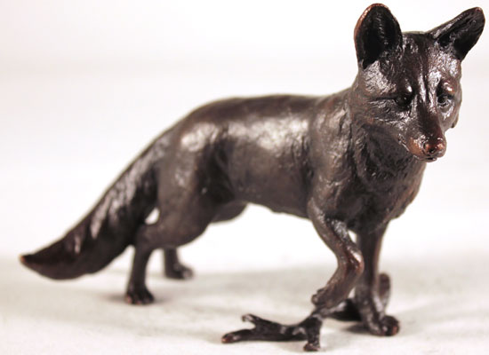 Keith Sherwin, Bronze, Fox Standing