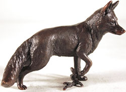 Keith Sherwin, Fox Standing, Bronze