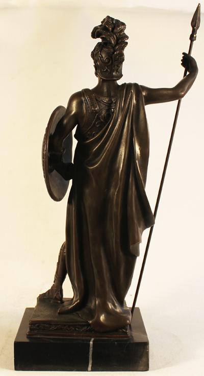 Bronze Statue, Bronze, Roman Soldier Signature image. Click to enlarge