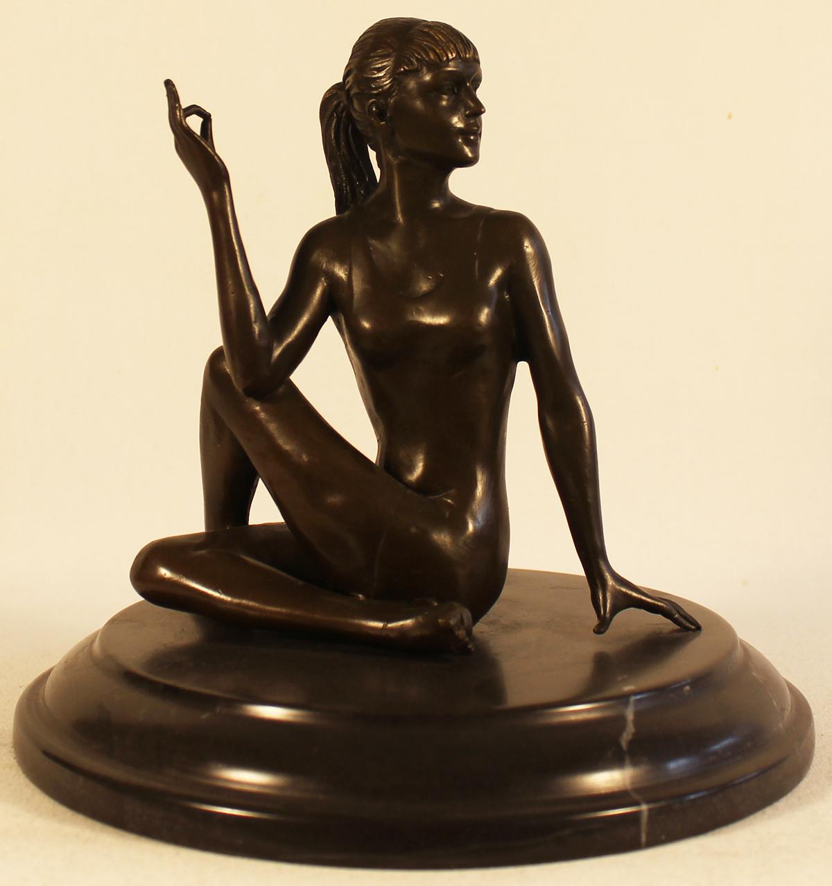 Bronze Statue, Bronze, Meditation Click to enlarge