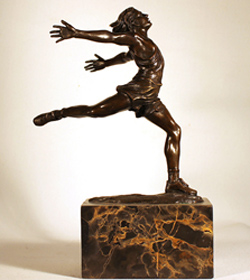 Bronze Statue, Dancer, Bronze