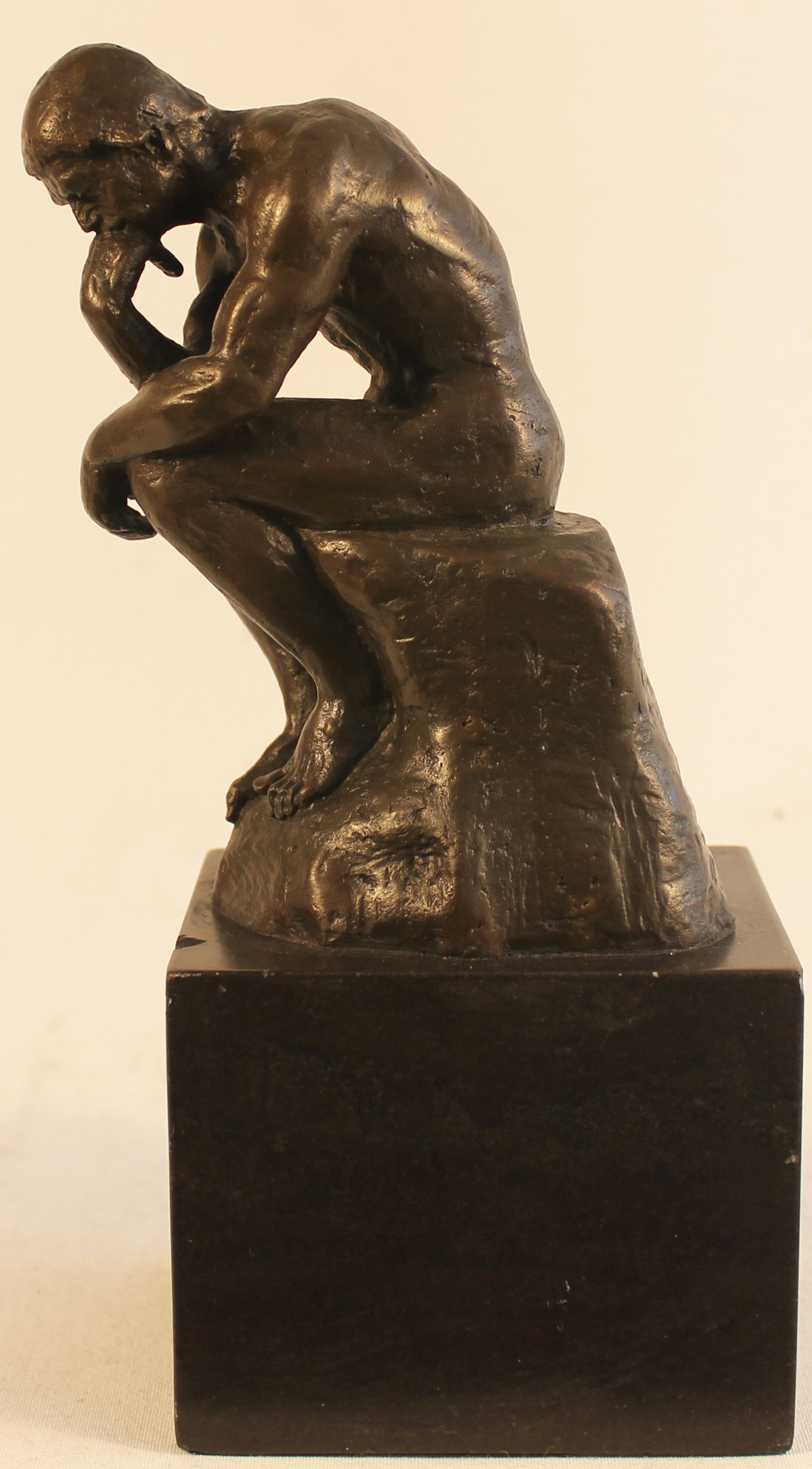 Bronze Statue, Bronze, The Thinker  Click to enlarge