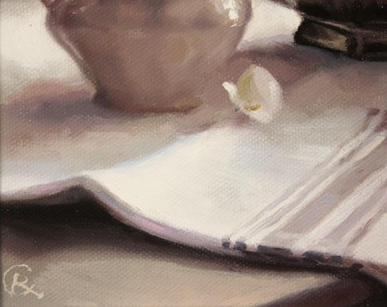 Caroline Richardson, Original oil painting on canvas, Afternoon Light Signature image. Click to enlarge