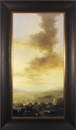 Clare Haley, Original oil painting on panel, So Evening Begins Medium image. Click to enlarge