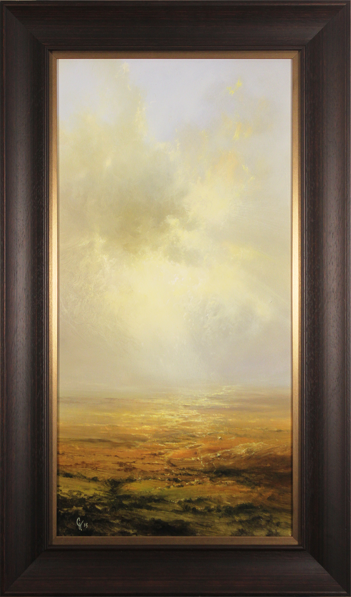 Clare Haley, Original oil painting on panel, Endless Moorland Click to enlarge
