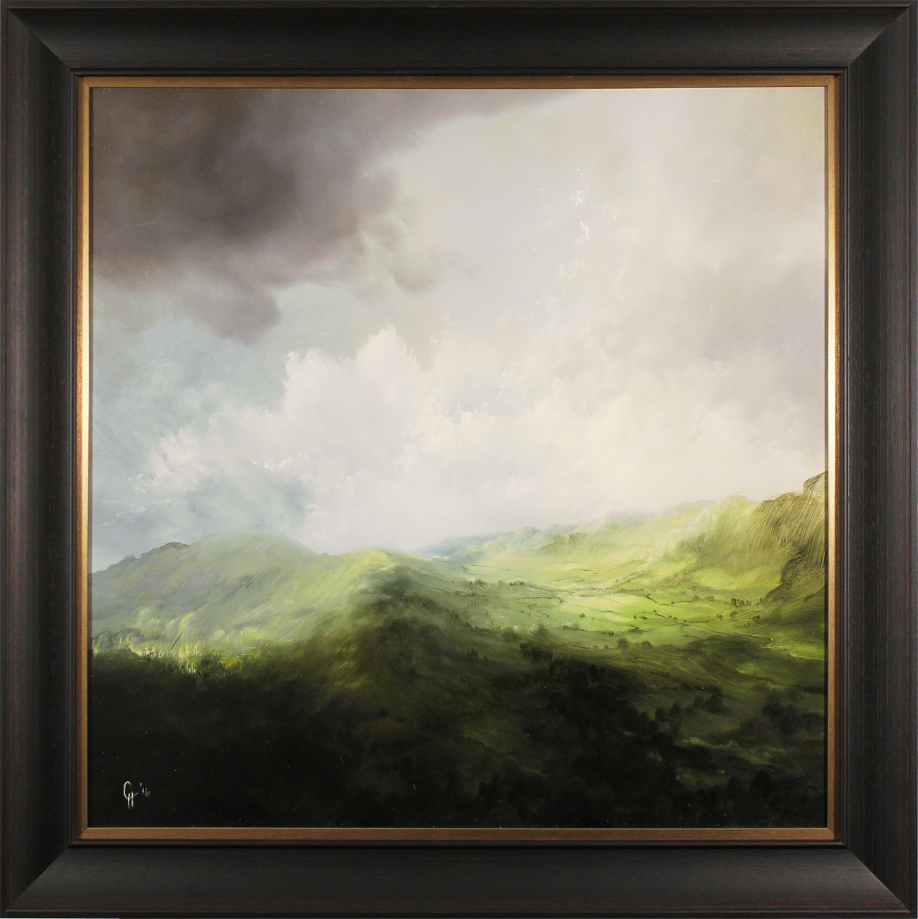 Clare Haley, Original oil painting on panel, All Will Be Revealed Click to enlarge