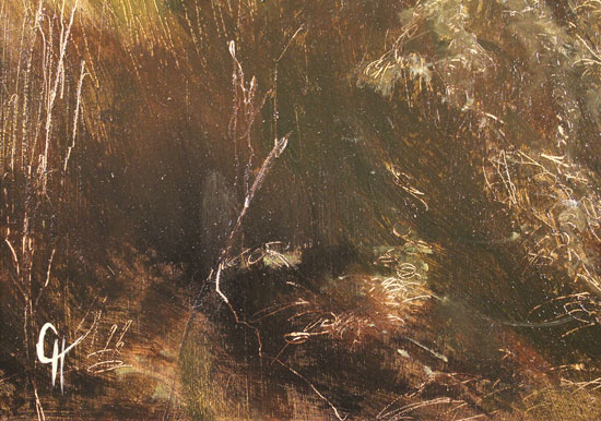 Clare Haley, Original oil painting on panel, The Last Season Signature image. Click to enlarge