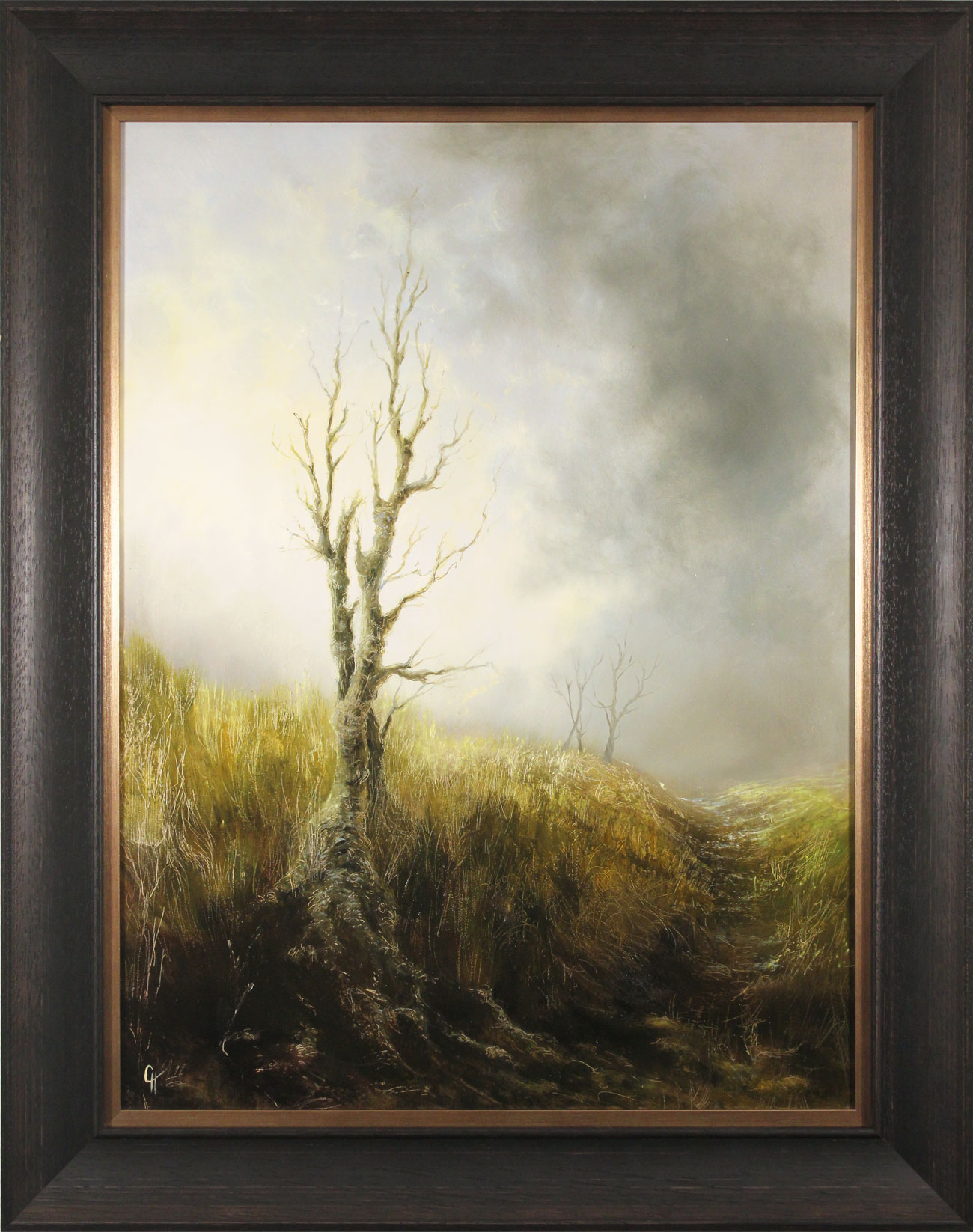 Clare Haley, Original oil painting on panel, The Last Season Click to enlarge