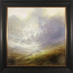 Clare Haley, Original oil painting on panel, Ray of Light
